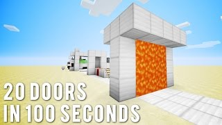 One of Mumbo Jumbo's most viewed videos: Minecraft: 20 More Doors In 100 Seconds