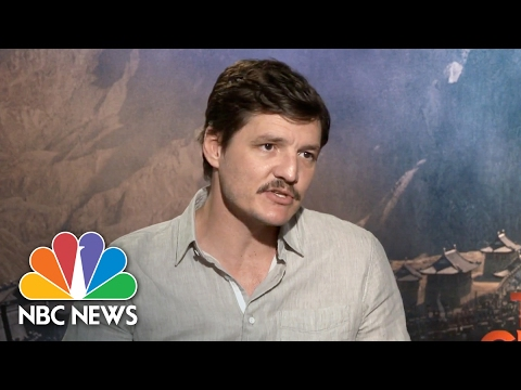 Pedro Pascal On Filming In China, His 'Obsession' With Zhang Yimou, Encouraging Diversity | NBC News