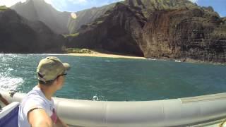 Napali Coast Boat Tour HD - [Kauai, Hawaii 2014 Day 6]