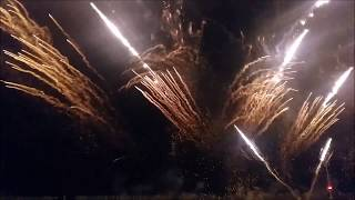 Фейерверк шоу в Бибионе.  Случайно попали на  открытие курортного сезона.