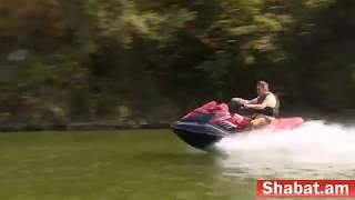 Կարեն Կարապետյանն ու Արցախի վարչապետը ջրային մոտոցիկլետ են վարում