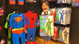 Shopping For Holloween Custom For Kids
