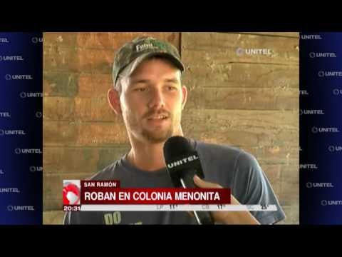 Tres hombres robaron una casa de menonitas en San Ramón
