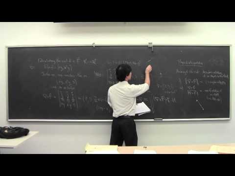 Math 032 Multivariable Calculus 22 111914: Curl, Divergence, Green's Theorem