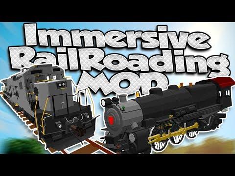 1 12 1] Immersive Railroading Mod Download | Planeta Minecraft