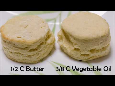 Can you substitute butter for shortening in baking powder biscuits