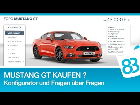 Ford Mustang GT V8 kaufen ?