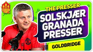 Solskjaer Press Conference Reaction! Granada vs Manchester United Europa League