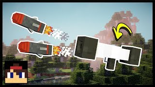 ✔ Minecraft PE: How To Make A Working Rocket Launcher | No Mods Or Addons!