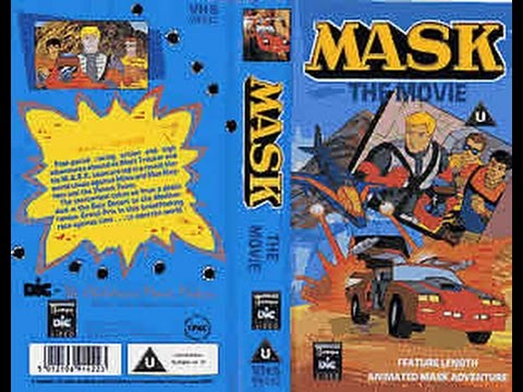 M.A.S.K Feature Length Movie vhs