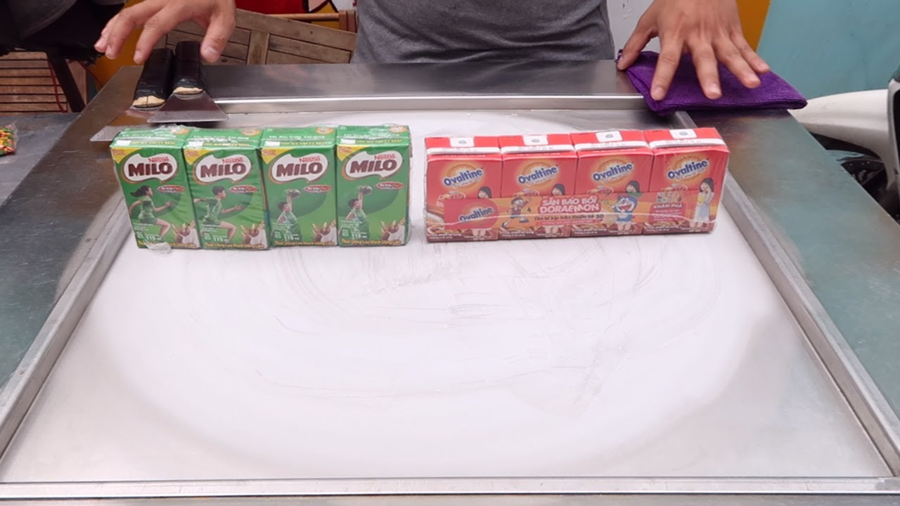 how to make milo ice cream