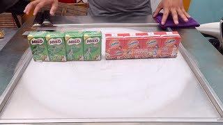 NESTLE MILO ice cream w/ OVALTINE ice cream vs Coca cola Pepsi Ice Cream