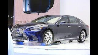 |VMS 2017| Lexus LS 500h - sedan hạng sang tiết kiệm nhiên liệu tại Triển lãm