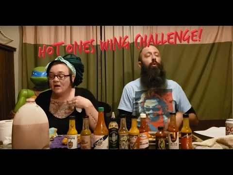 Hot Ones Wing Challenge! With the Last Dab XXX!!