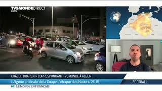 Algérie : entre foot et contestation, l'espoir algérien