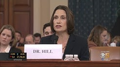 Impeachment Hearings Continue With Witnesses Fiona Hill And David Holmes