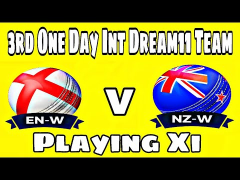 Eng (w) vs NZ (w), 3rd One Day International, Match Preview, Playing Xi and Dream11 Team