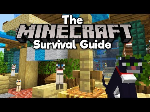 Cat Cafe & Taming All Cat Variants! ▫ The Minecraft Survival Guide (Tutorial Lets Play) [Part 151]