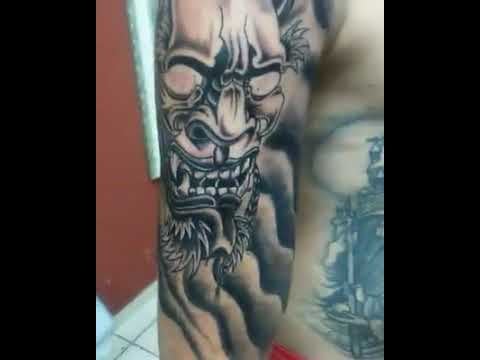 Tattoo Hania Oriental Sombreada Youtube