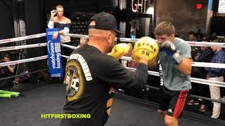 Sergiy Derevyanchenko FULL WORKOUT #HBO #BOXING