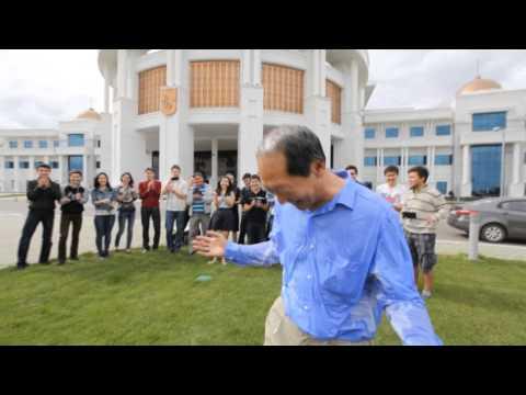 Ice Bucket Challenge by the President of Nazarbayev University Shigeo Katsu