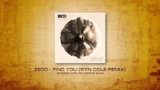 Zedd feat. Miriam Bryant & Matthew Koma -- Find You (Syn Cole Remix) [Teaser]
