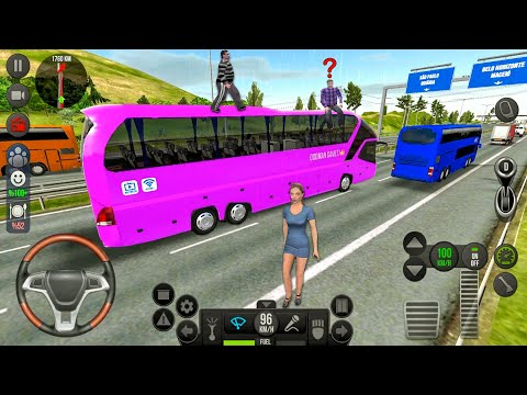 Bus Simulator Ultimate #20 Road to Sao Paulo - Bus Games! Android gameplay