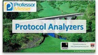 Protocol Analyzers - CompTIA Network+ N10-006 - 4.2