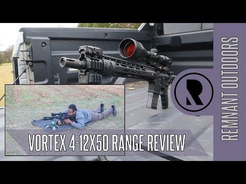 Vortex Crossfire II 4-12x50 Scope Range Review // Remnant Outdoors