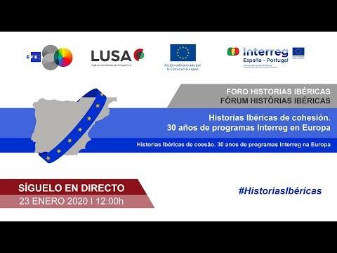 🔴📡 #ENVIVO | Foro Historias Ibéricas. 30 años del Programa de Cooperacion Transfronteriza