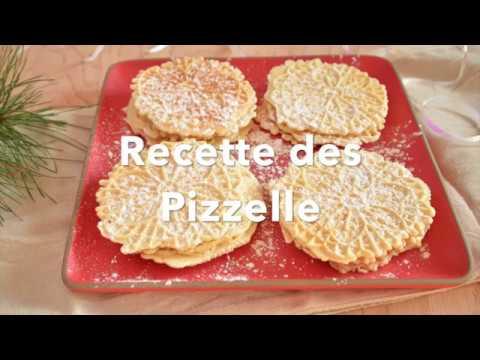Recette Classique des Pizzelle