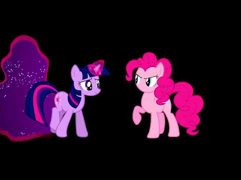 My Little Pony Coloring Pages Twilight Sparkle And Friends : Pinkie pie & twilight sparkle break the fourth wall my little pony