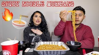 SPICY NOODLE MUKBANG: HOW OUR MOVE WENT WRONG