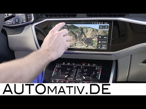 Audi A7 und A8 MMI Multimedia-System im TECH-CHECK: Deep-Dive Audi Navigationssystem