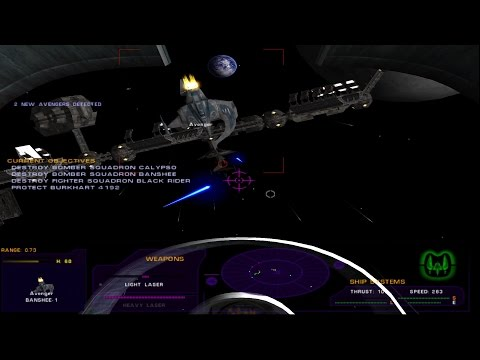 Tachyon: The Fringe Pre-Release Demo | Escort Mining Vessel | Mission 3 [Hard]