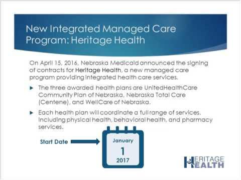 Heritage Health Nursing Facility Webinar Recording August 8, 2016