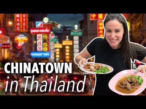 BEST Food In CHINATOWN Yaowarat // Bangkok Thailand