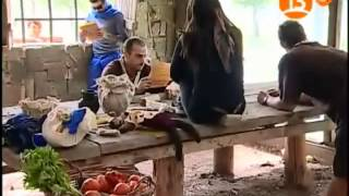 Dominique Gallego-Andres leyendo la carta de Domi
