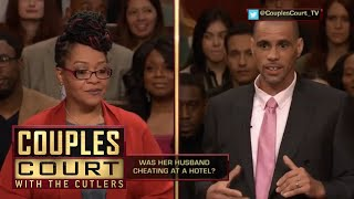 GPS Shows Woman's Husband Was At Hotel For 3 Hours, He Says Its Broke (Full Episode) | Couples Court