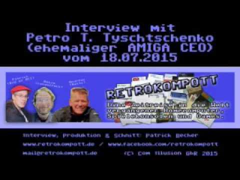RETRO LEGENDEN IM INTERVIEW - FOLGE 001 - PETRO T. TYSCHTSCHENKO
