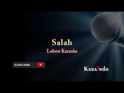 Lobow salah karaoke