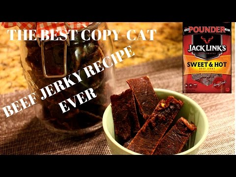 The Best Copy-Cat  Jack Links Sweet & Hot Beef Jerky Recipe Ever!
