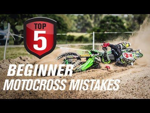 Top 5 Beginner Motocross Mistakes & How To Avoid Them