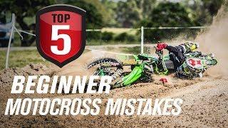 Top 5 Beginner Moto¢ross Mistakes & How to Avoid Them