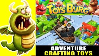 Toysburg: The Monumental Adventure - Crafting Toys & Crazy Quests ! (ios Gameplay Tutorial)