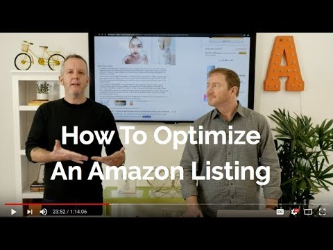 How To Optimize An Amazon Listing