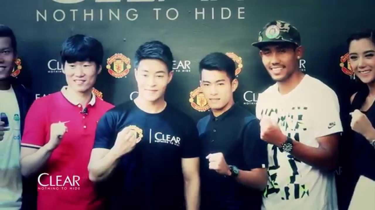 Park Ji Sung Meet Greet Clear Man United Event In Bangkok Youtube