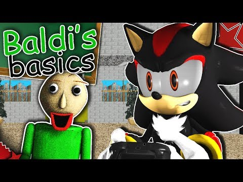 Shadow Plays Baldi's Basics! - EGGMAN'S CHILD?!