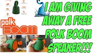 Polk BOOM bluetooth speaker review & FREE GIVEAWAY from Polk Audio - Swimmer Duo