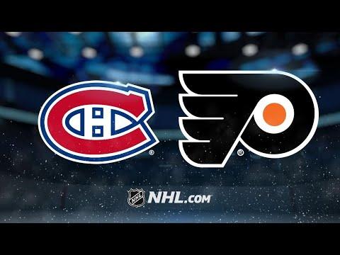Voracek lifts Flyers by Canadiens in OT, 3-2